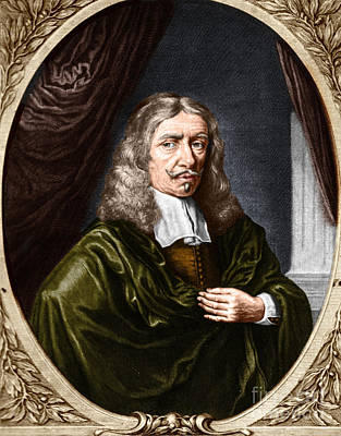 Johannes Hevelius, Polish Astronomer Print by Science Source