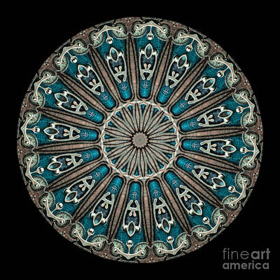 Mandala Photograph - Kaleidoscope Steampunk Series by Amy Cicconi