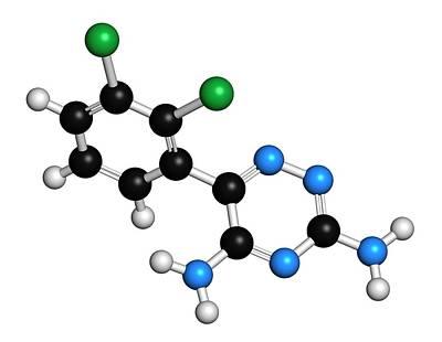 Bipolar Photograph - Lamotrigine Seizures Drug Molecule by Molekuul