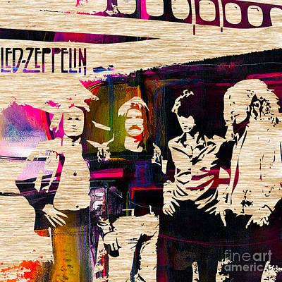 Led Zeppelin Print by Marvin Blaine