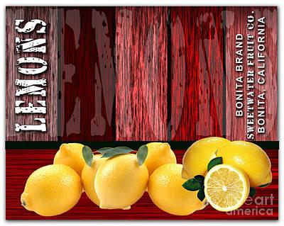 Lemon Mixed Media - Lemon Farm by Marvin Blaine