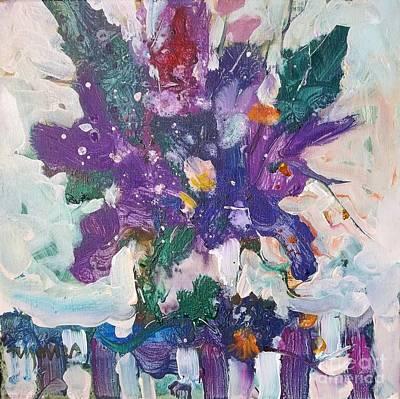 Lilacs Print by Micheal Jones