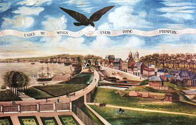 American Eagle Painting - Louisiana Purchase, 1803 by Granger