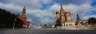 St Basils Photograph - Low Angle View Of A Cathedral, St by Panoramic Images