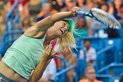 Maria Sharapova Photograph - Maria Sharapova by David Long