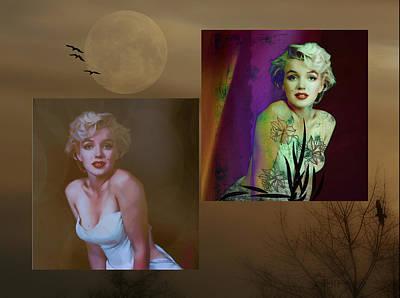 Marilyn Monroe Print by EricaMaxine  Price