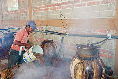 Fired Clay Photograph - Mezcal Distillery by Jim West