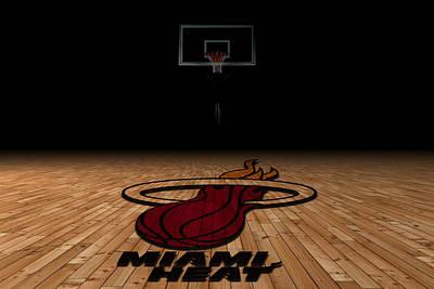 March Photograph - Miami Heat by Joe Hamilton