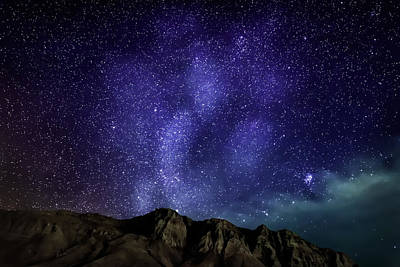 Idea Photograph - Milky Way Galaxy With Aurora Borealis by Panoramic Images