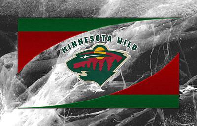 Hockey Photograph - Minnesota Wild by Joe Hamilton