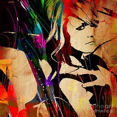 Nashville Tennessee Mixed Media - Miranda Lambert Collection by Marvin Blaine