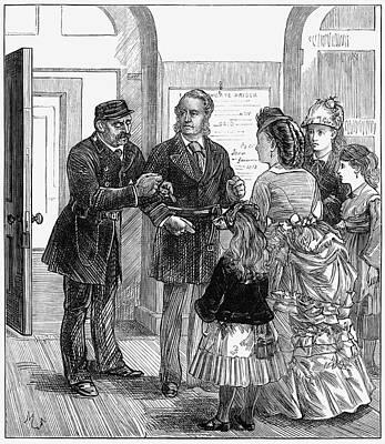Newgate Prison, 1873 Print by Granger