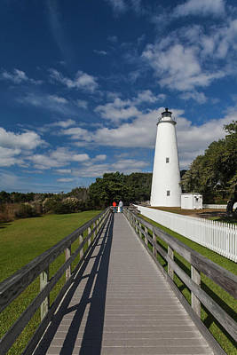 Cape Hatteras Lighthouse Photograph - North Carolina, Cape Hatteras National by Walter Bibikow