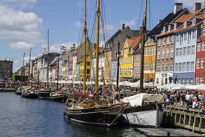 Wooden Ships Photograph - Nyhavn - Copenhagen Denmark by Jon Berghoff