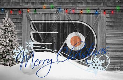 Philadelphia Flyers Photograph - Philadelphia Flyers by Joe Hamilton