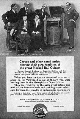 Endorsement Painting - Phonograph, 1914 by Granger
