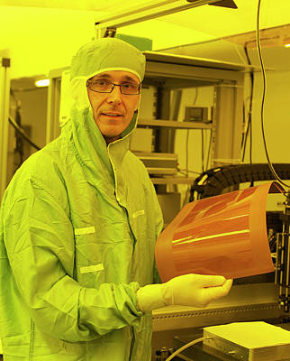Polymer Photograph - Photonics Polymer by Ibm Research