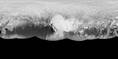 Pluto Print by Nasa/johns Hopkins University Applied Physics Laboratory/southwest Research Institute