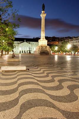 Mosaic Photograph - Portugal, Lisbon by Emily Wilson