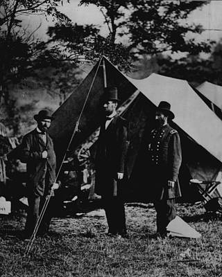 Proclamation Photograph - President Abraham Lincoln by Retro Images Archive