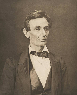 Abraham Lincoln Photograph - President Abraham Lincoln by War Is Hell Store