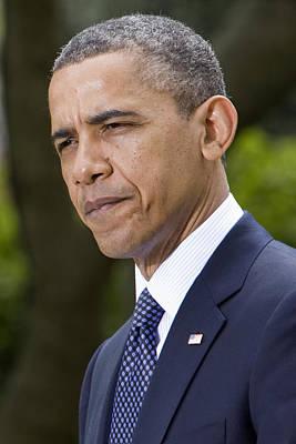 President Obama Print by JP Tripp