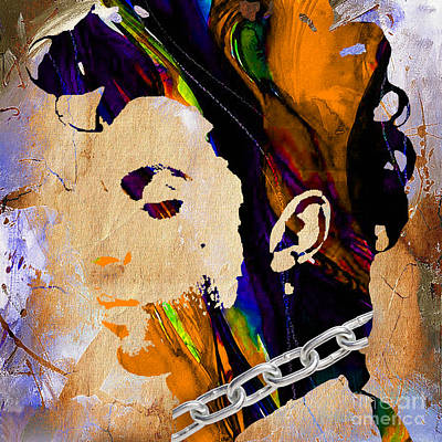 Prince Collection Print by Marvin Blaine