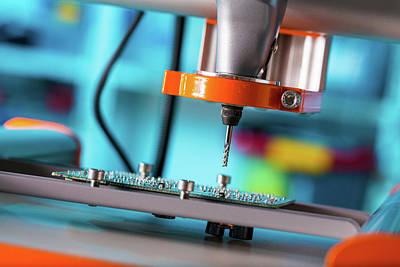 Printed Circuit Board Processing Print by Wladimir Bulgar