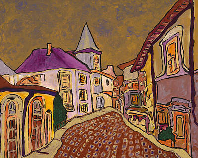 Painting - Provence by Oscar Penalber