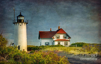 Lighthouse Photograph - Race Point Lighthouse by Betty Wiley
