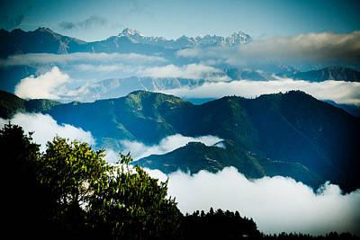 Raimond Klavins Fotografika.lv Sunrise Himalayas Mountain Nepal Print by Raimond Klavins