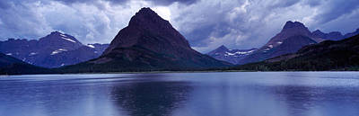 Reflection Of Mountains In A Lake Print by Panoramic Images