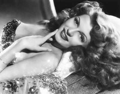 Hurrell Photograph - Rita Hayworth, Columbia Portrait by Everett