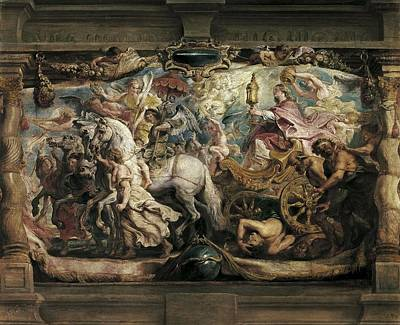 Rubens, Peter Paul 1577-1640. The Print by Everett