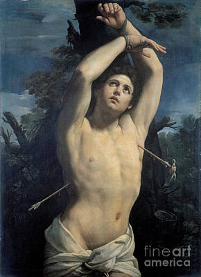 New Testament Painting - Saint Sebastian by Celestial Images