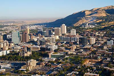 Salt Lake City Utah Print by Utah Images