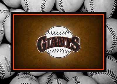 San Francisco Giants Print by Joe Hamilton