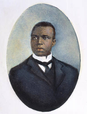 Ragtime Photograph - Scott Joplin (1868-1917) by Granger