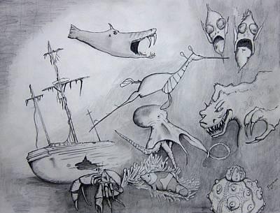 Sea Dragon Original by Dan Twyman