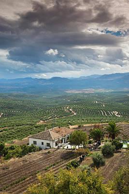 Spain, Andalucia Region, Jaen Province Print by Walter Bibikow