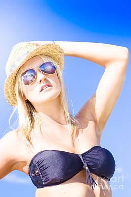 Sunbathers Photograph - Summer Vacation by Jorgo Photography - Wall Art Gallery