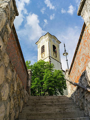 Budapest Attractions Photograph - Szentendre Near Budapest by Martin Zwick
