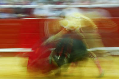 Toro Photograph - Tauromaquia Bull-fights In Spain by Guido Montanes Castillo