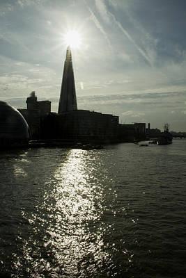 The Shard London Skyline  Print by David French
