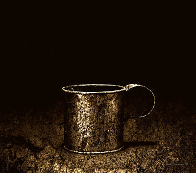 Parrotheads Photograph - Tin Cup Chalice by John Stephens