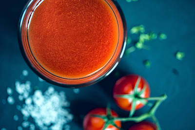 Beverage Photograph - Tomato Juice by Nailia Schwarz