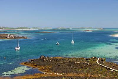 Drift Boat Photograph - Tresco by Ashley Cooper