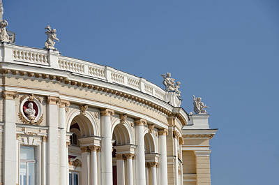 Ukraine, Odessa Historic Odessa Opera Print by Cindy Miller Hopkins