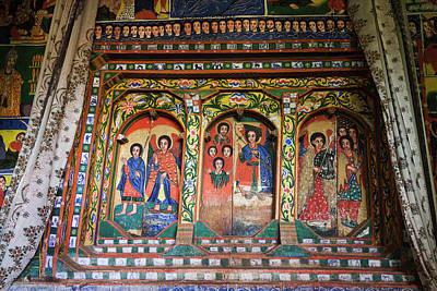 New Testament Photograph - Ura Kidane Meret Monastery, Lake Tana by Martin Zwick