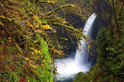 Usa, Oregon, Columbia Gorge Print by Gary Luhm